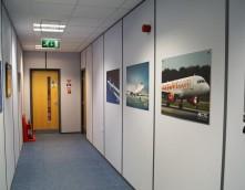 Boeing Hallway